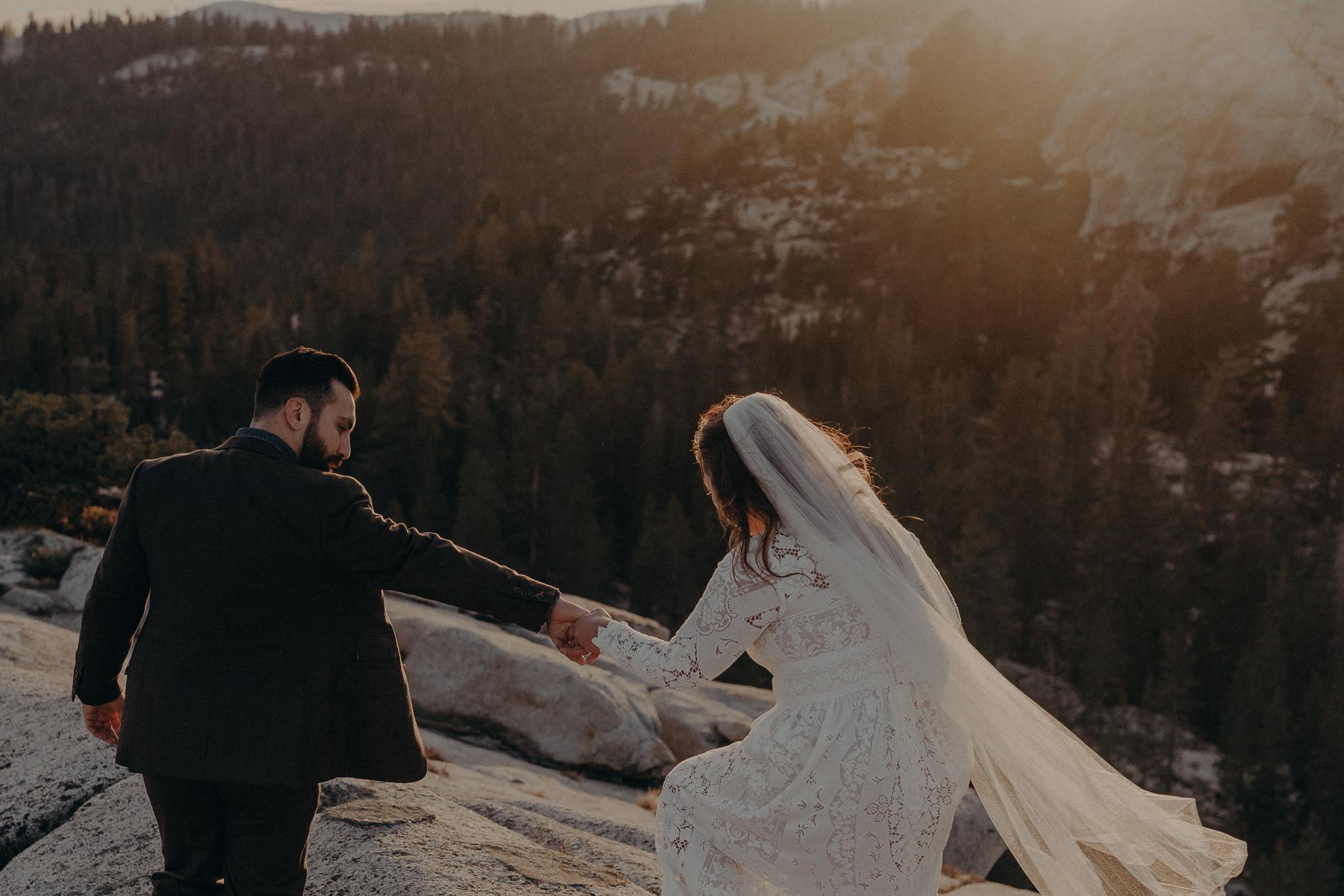 Yosemite Elopement Photographer - Evergreen Lodge Wedding Photographer - IsaiahAndTaylor.com-047.jpg