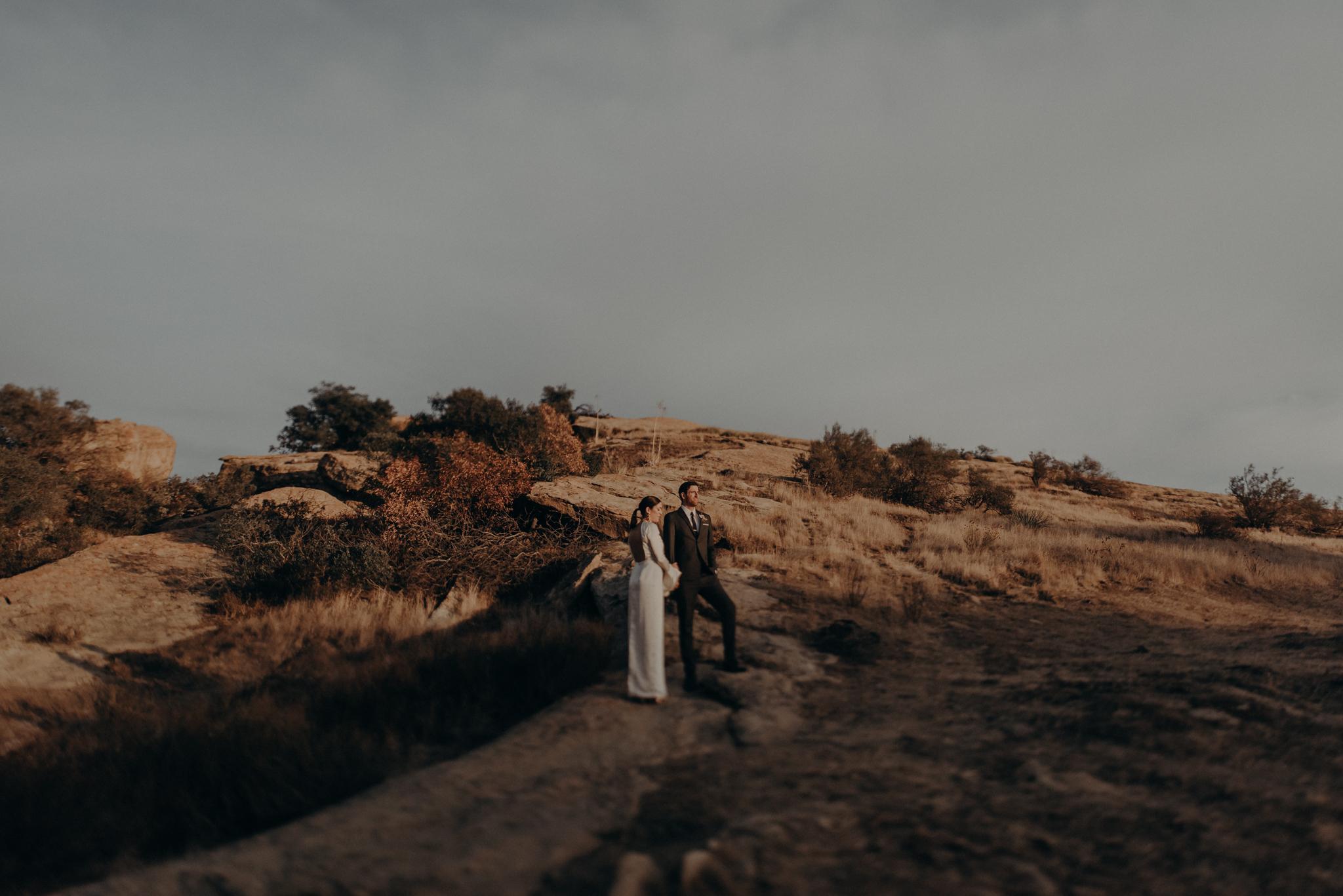 wedding photographer in los angeles - hummingbird nest ranch wedding venue photographs