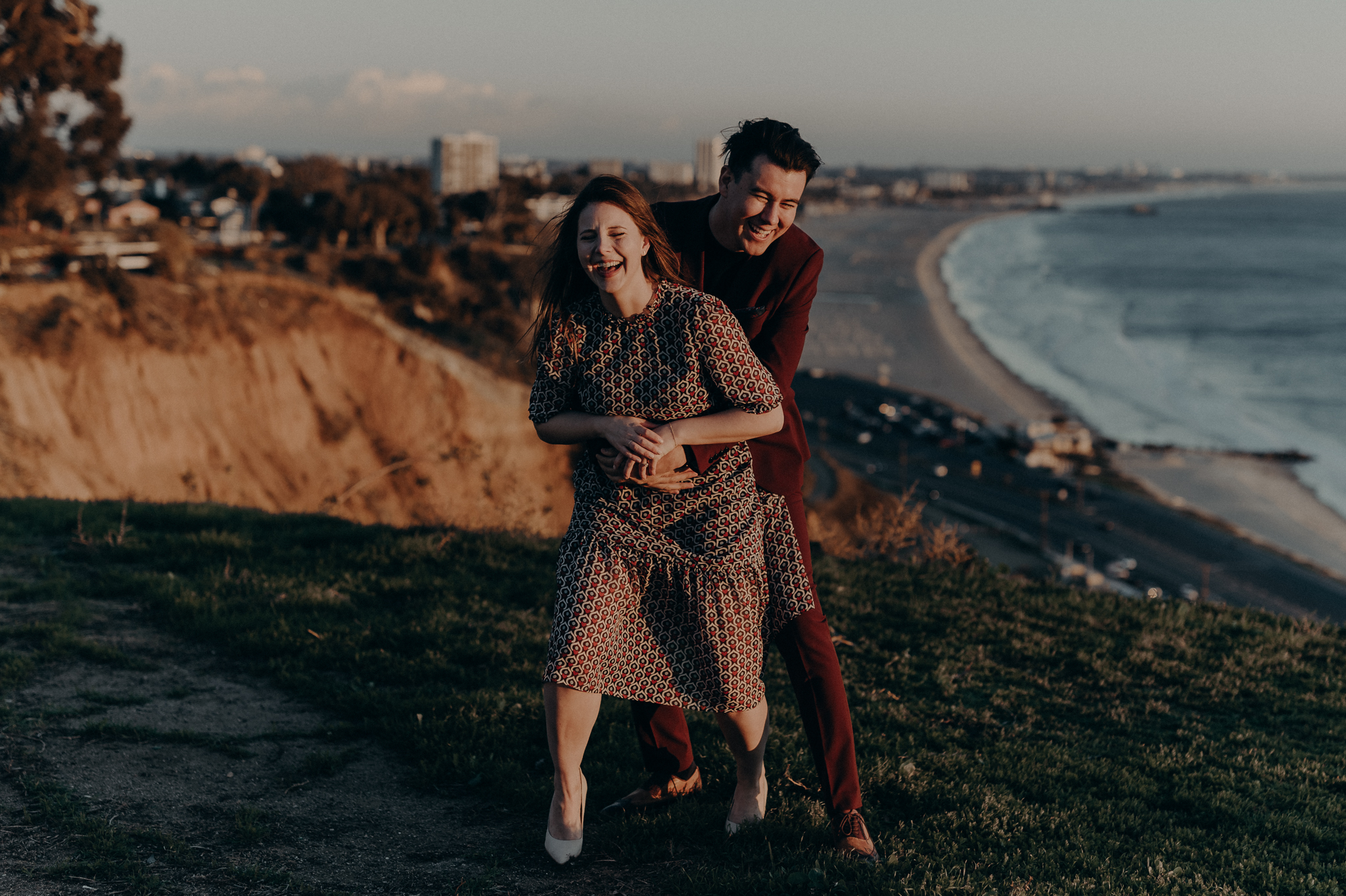 Santa Monica Engagement Photos - Wedding Photographer in Los Angeles - IsaiahAndTaylor.com -049.jpg