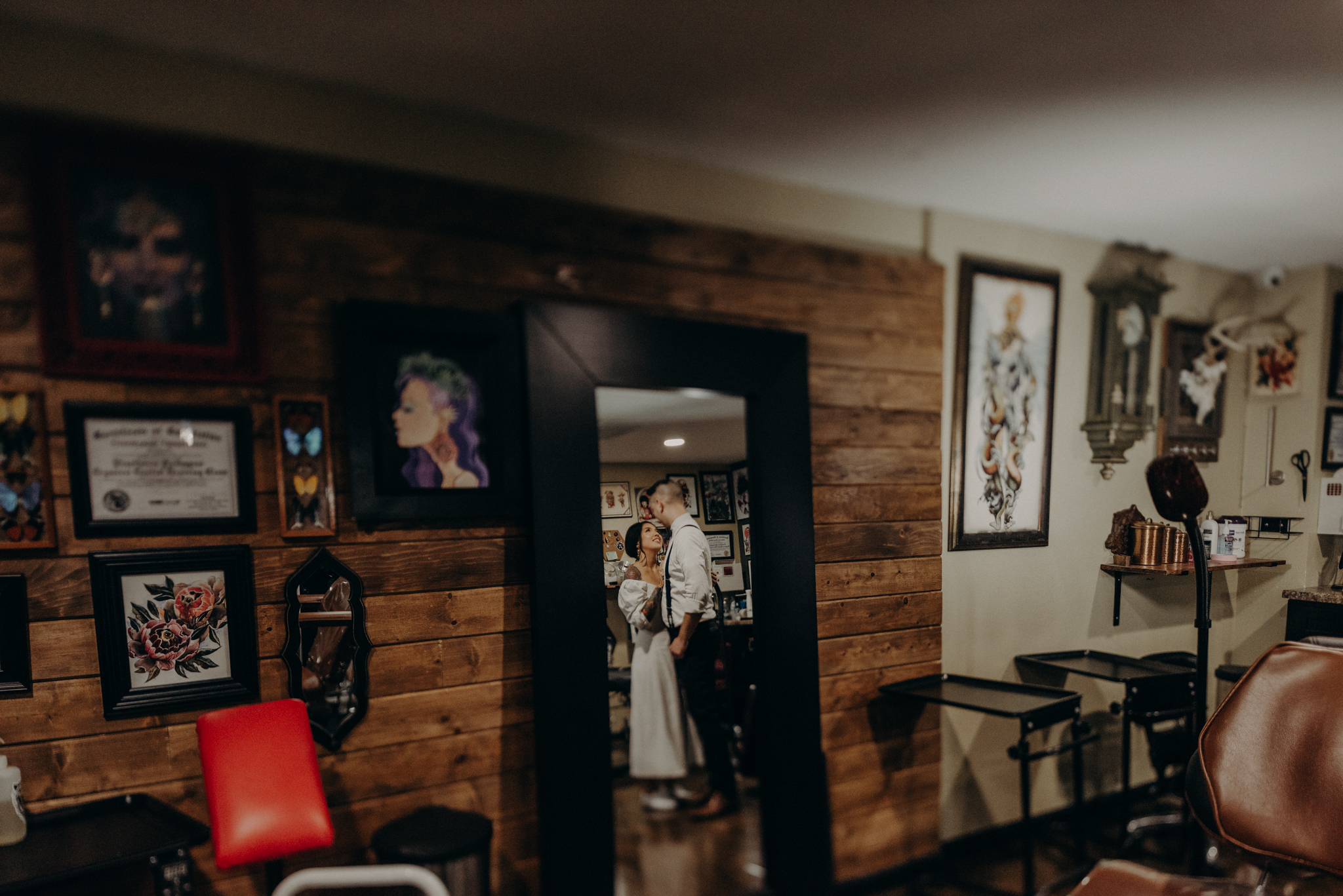 Wedding Photographer in LA - Los Angeles Wedding Photos - Tattoo Shop Engagement Session - IsaiahAndTaylor.com-007.jpg