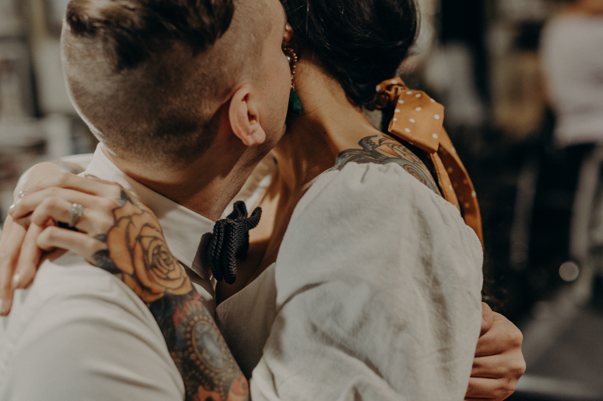 Wedding Photographer in LA - Los Angeles Wedding Photos - Tattoo Shop Engagement Session - IsaiahAndTaylor.com-016.jpg