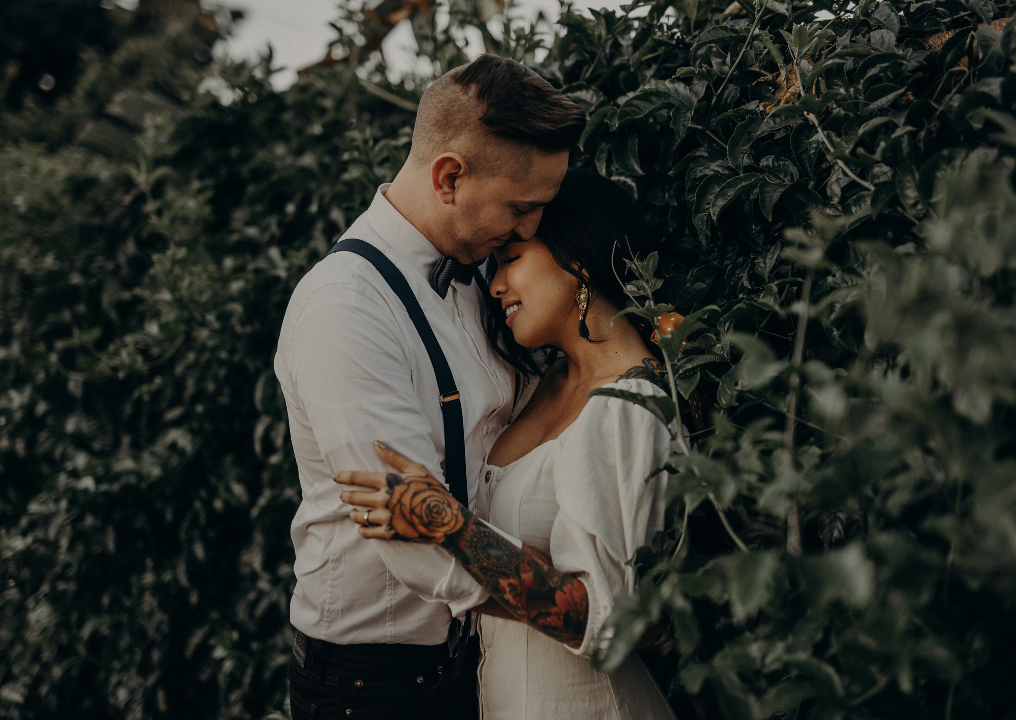 Wedding Photographer in LA - Los Angeles Wedding Photos - Tattoo Shop Engagement Session - IsaiahAndTaylor.com-033.jpg