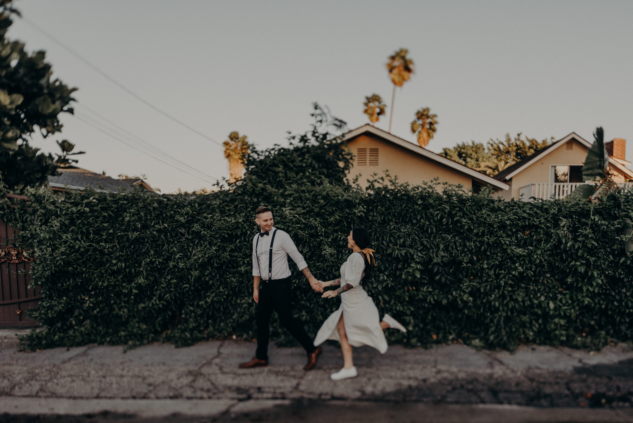 Wedding Photographer in LA - Los Angeles Wedding Photos - Tattoo Shop Engagement Session - IsaiahAndTaylor.com-036.jpg
