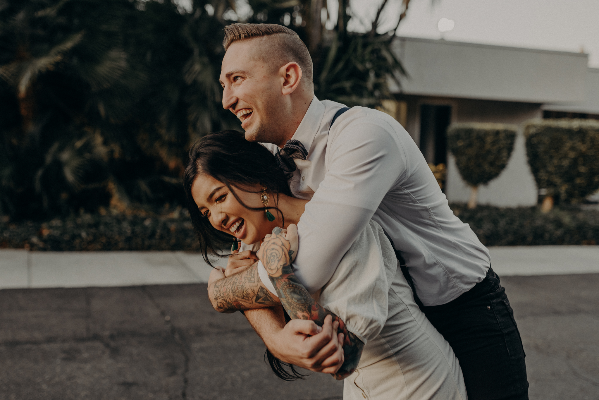 Wedding Photographer in LA - Los Angeles Wedding Photos - Tattoo Shop Engagement Session - IsaiahAndTaylor.com-047.jpg