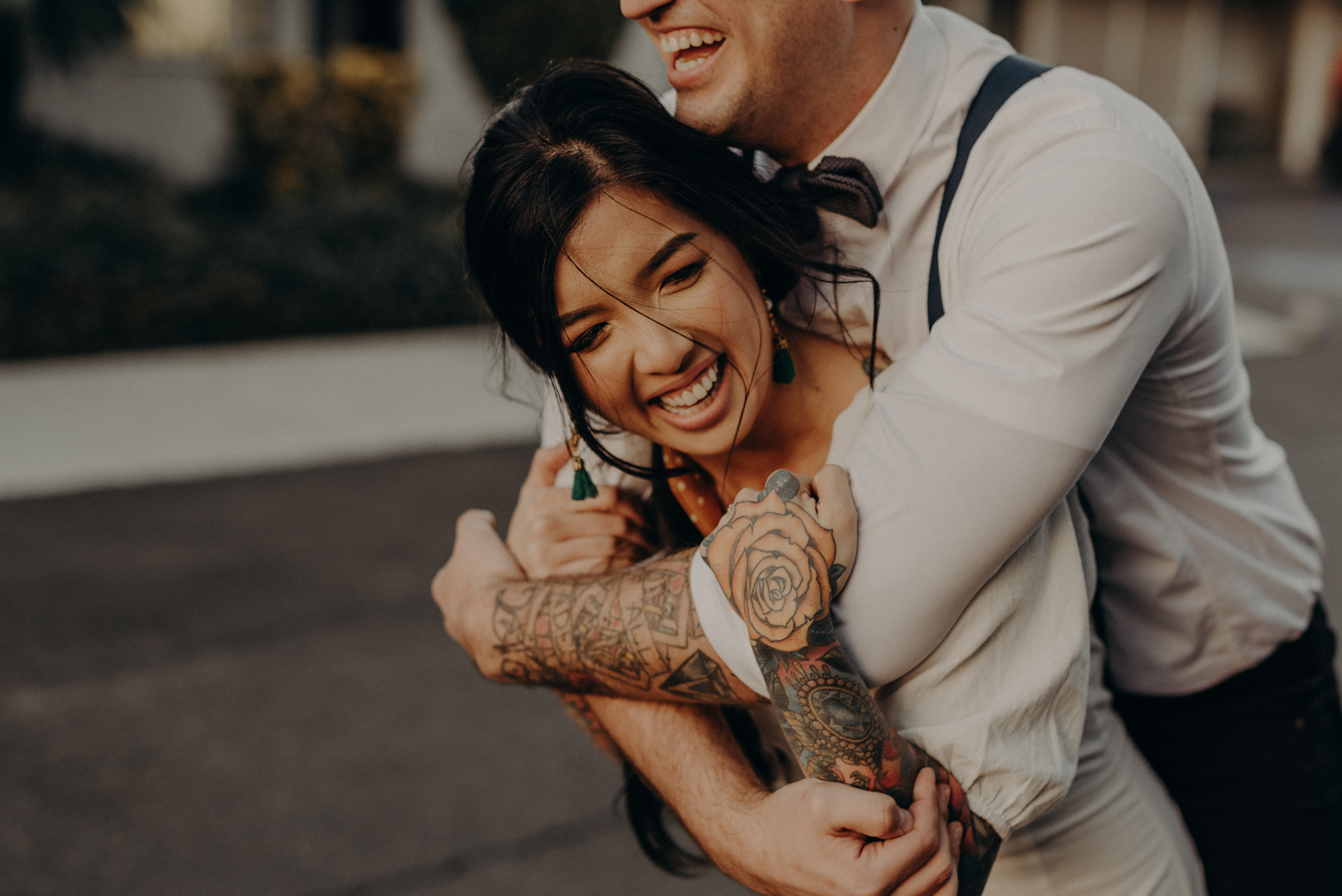 Wedding Photographer in LA - Los Angeles Wedding Photos - Tattoo Shop Engagement Session - IsaiahAndTaylor.com-048.jpg