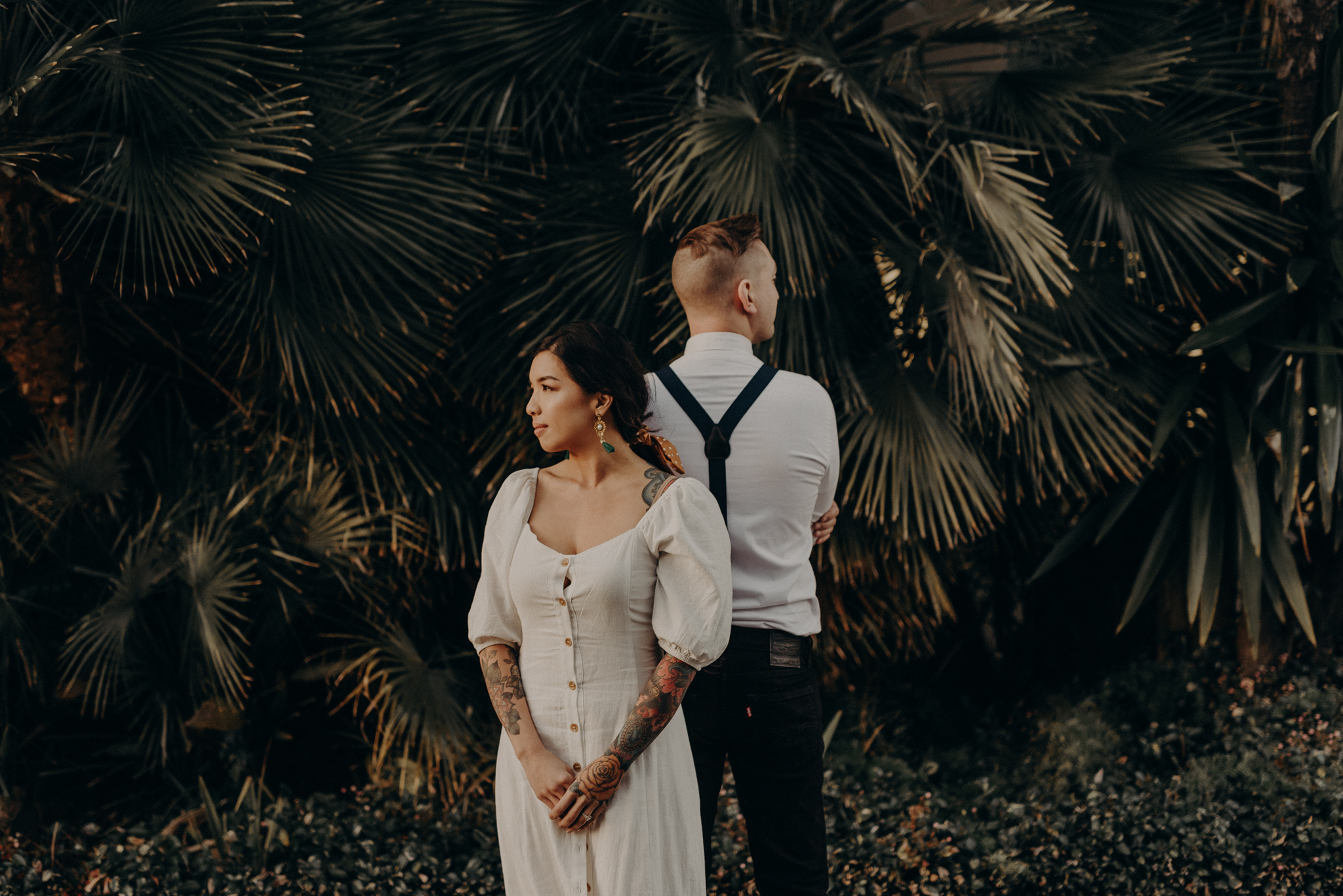 Wedding Photographer in LA - Los Angeles Wedding Photos - Tattoo Shop Engagement Session - IsaiahAndTaylor.com-053.jpg