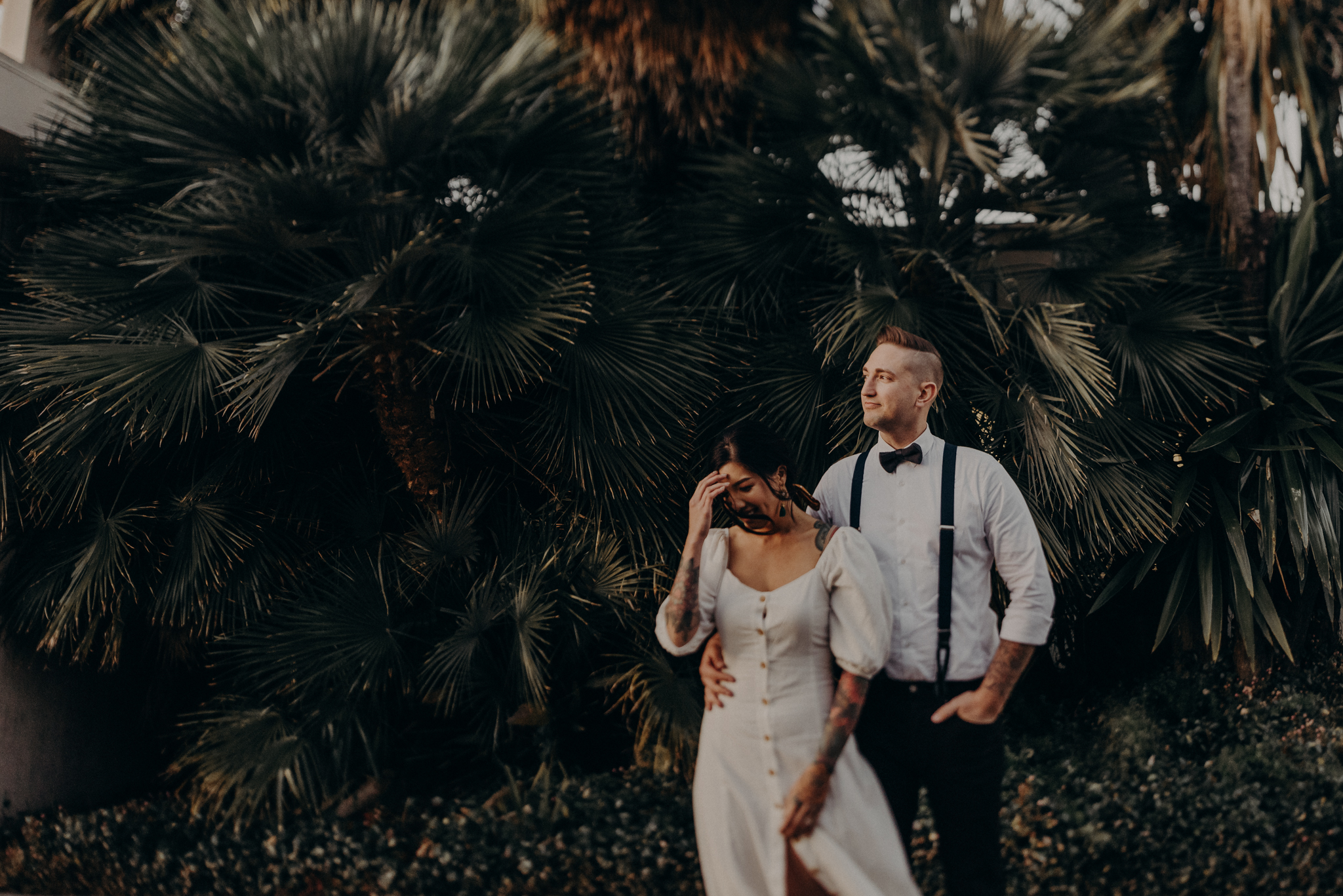 Wedding Photographer in LA - Los Angeles Wedding Photos - Tattoo Shop Engagement Session - IsaiahAndTaylor.com-054.jpg