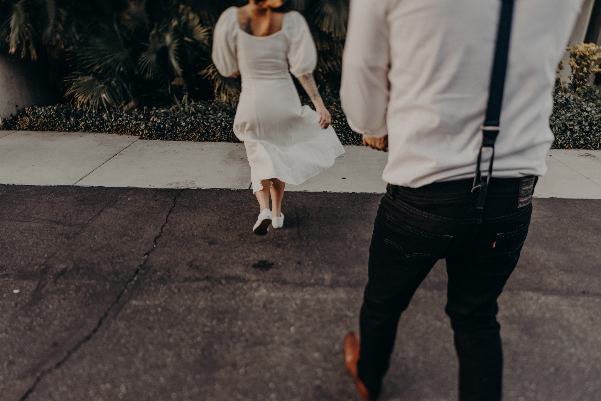 Wedding Photographer in LA - Los Angeles Wedding Photos - Tattoo Shop Engagement Session - IsaiahAndTaylor.com-057.jpg