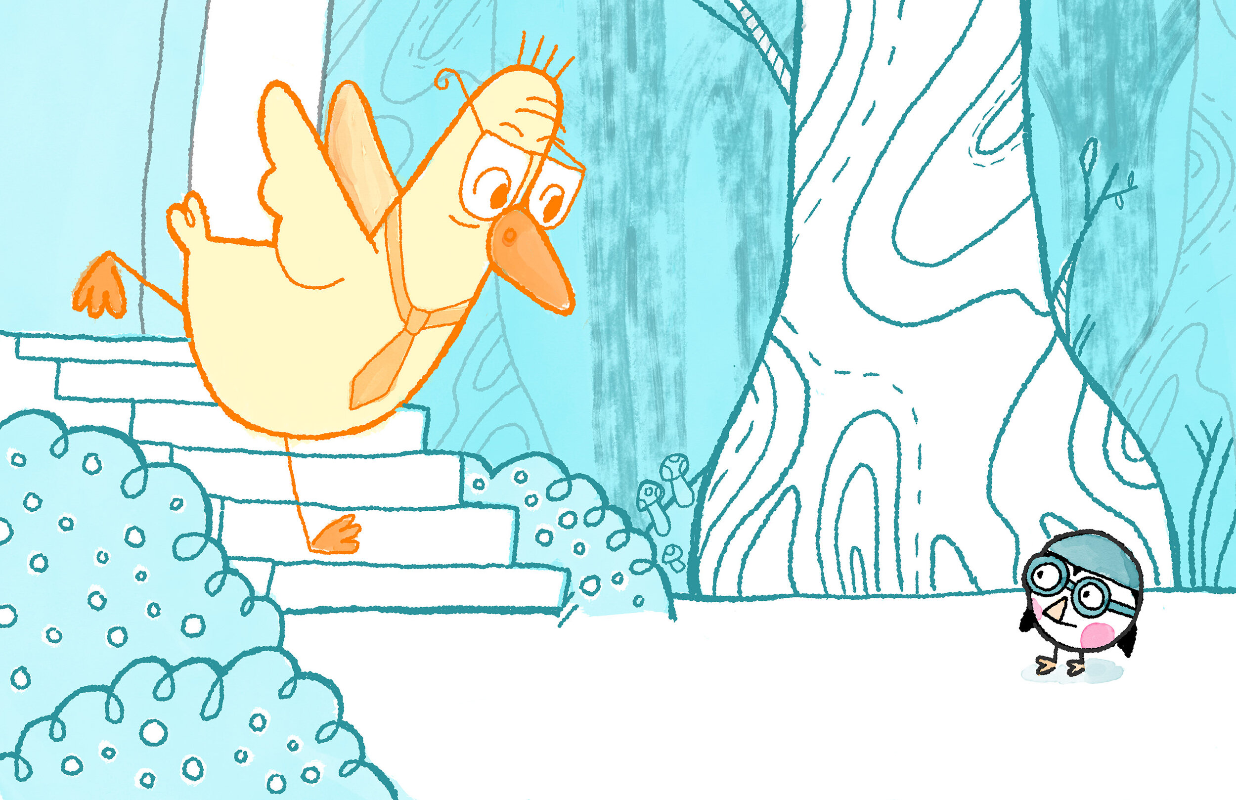The Grump Duck