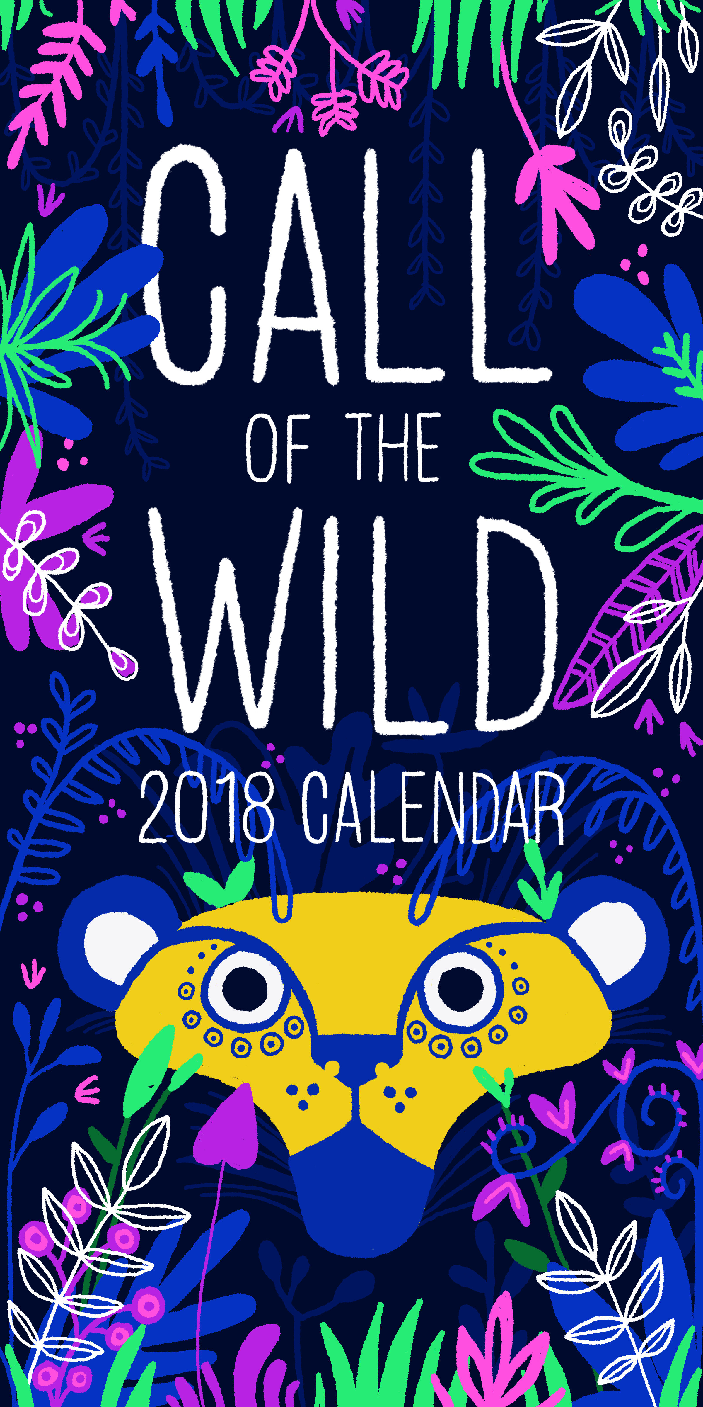 Call of the Wild Calendar: Title Page