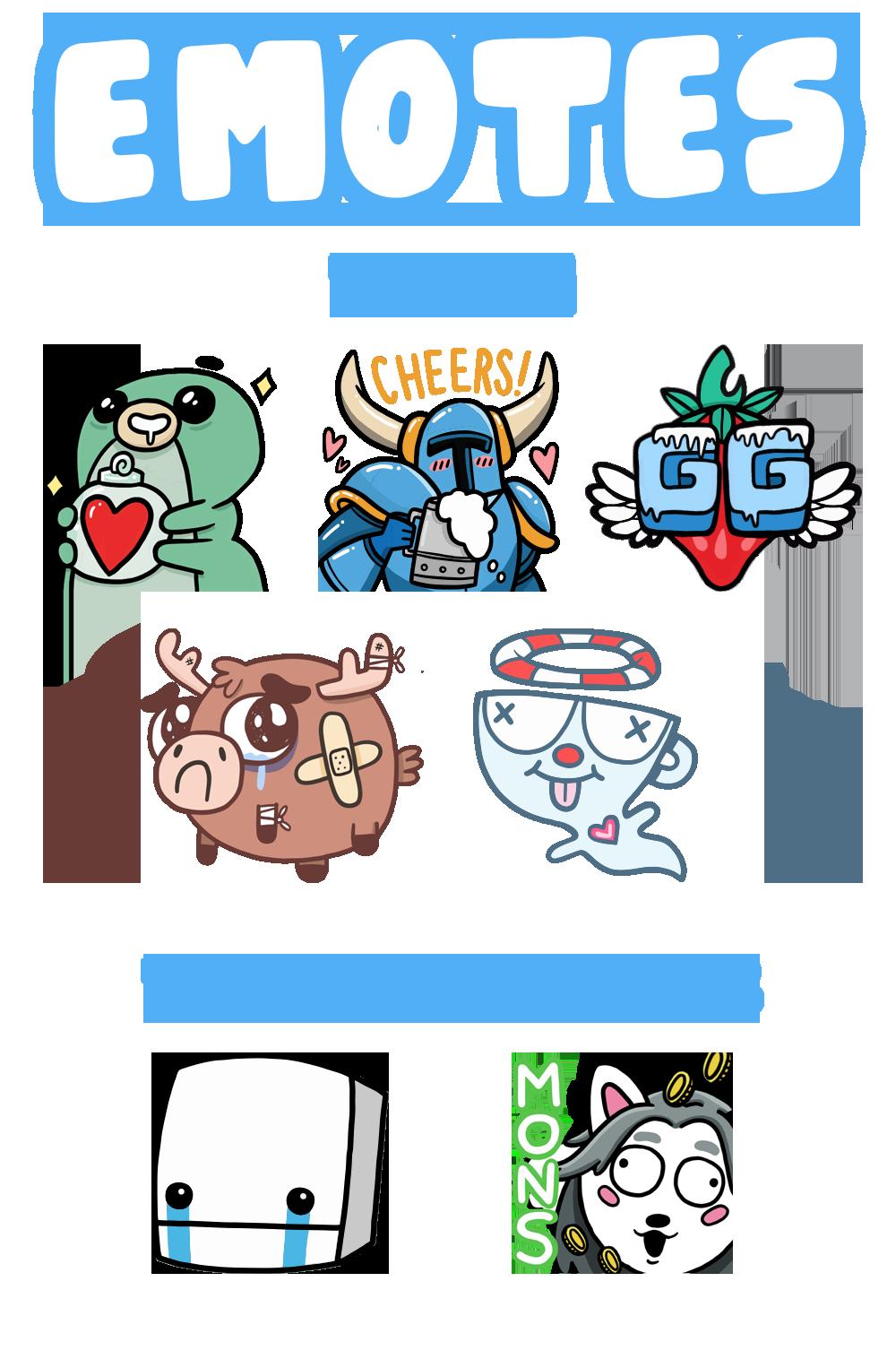 Tater & Tots Emotes