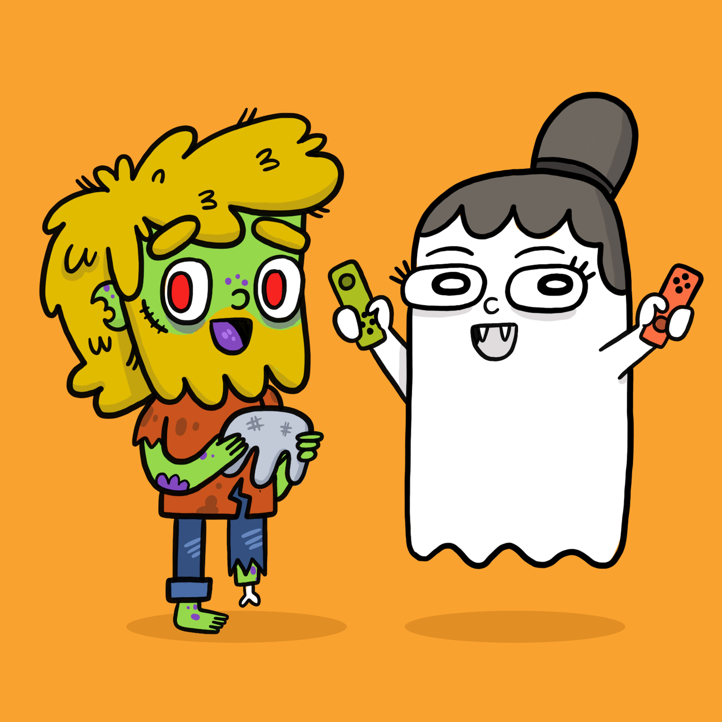 Tater & Tots Portrait: Halloween Theme
