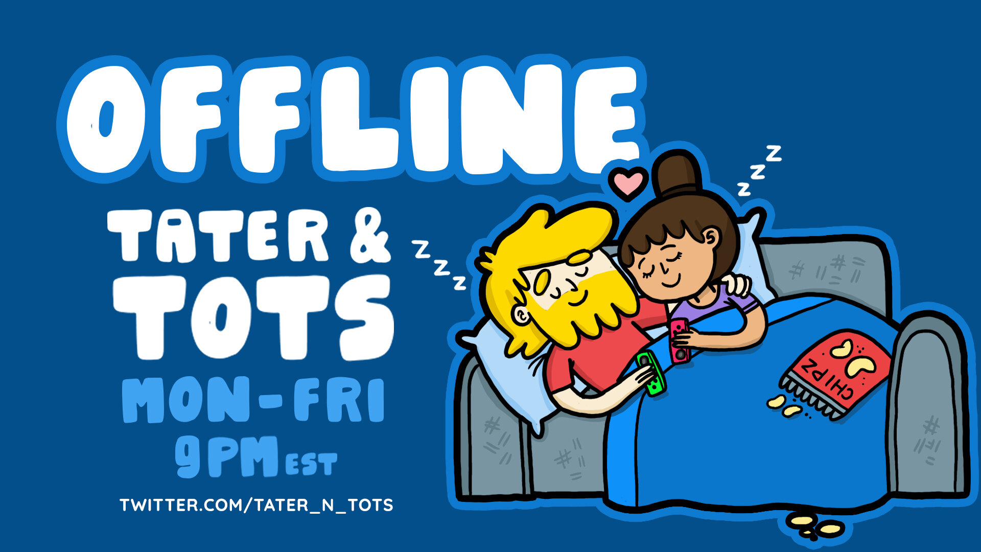 Tater & Tots Offline Screen