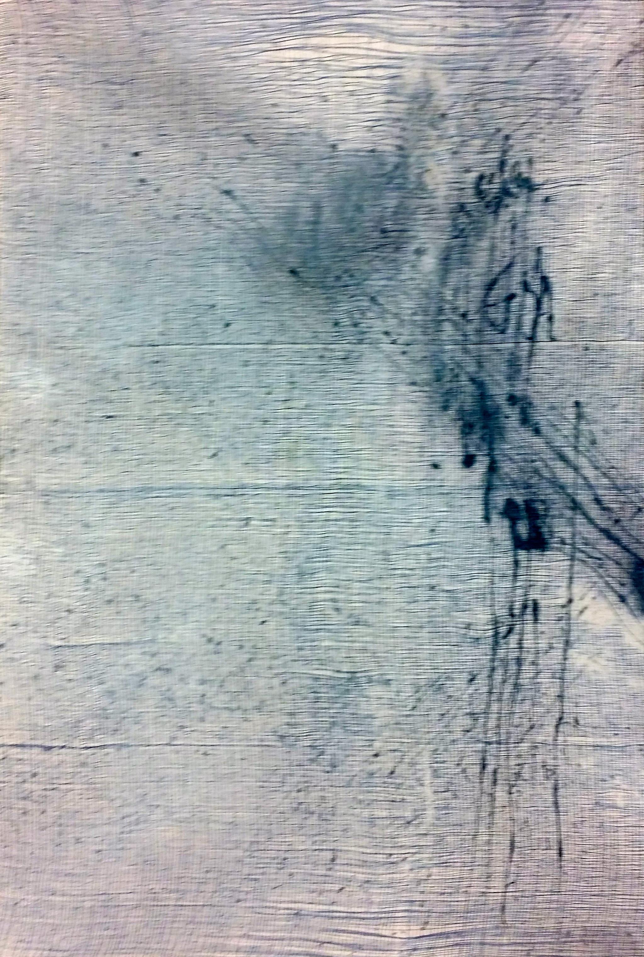 Sonata per Violino, 2015 36 x 24 inches