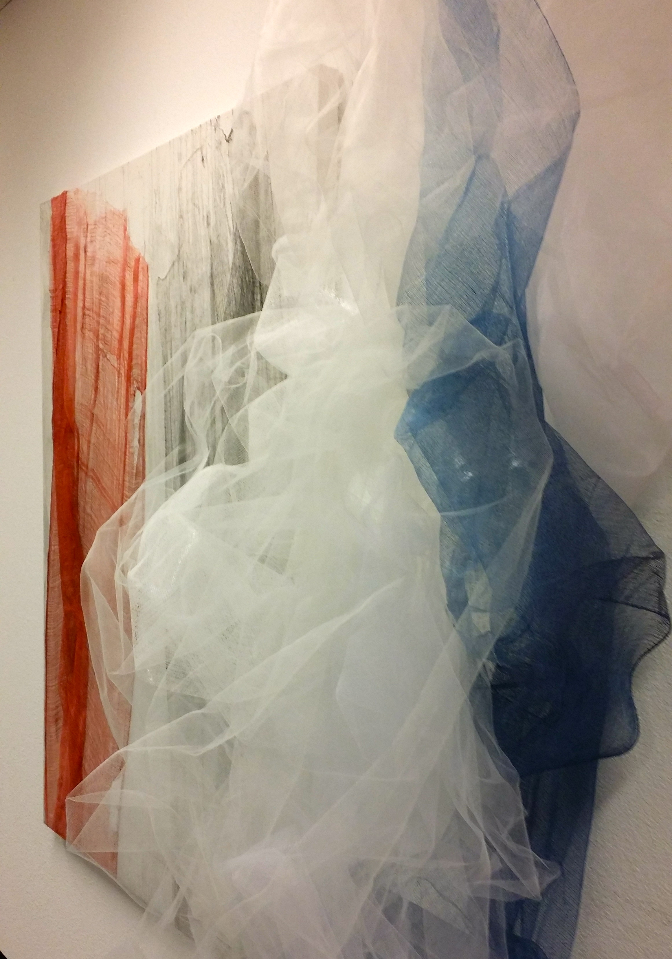 Weightlessness Studio Installation, 2015, 24 x 24 x 108 inches