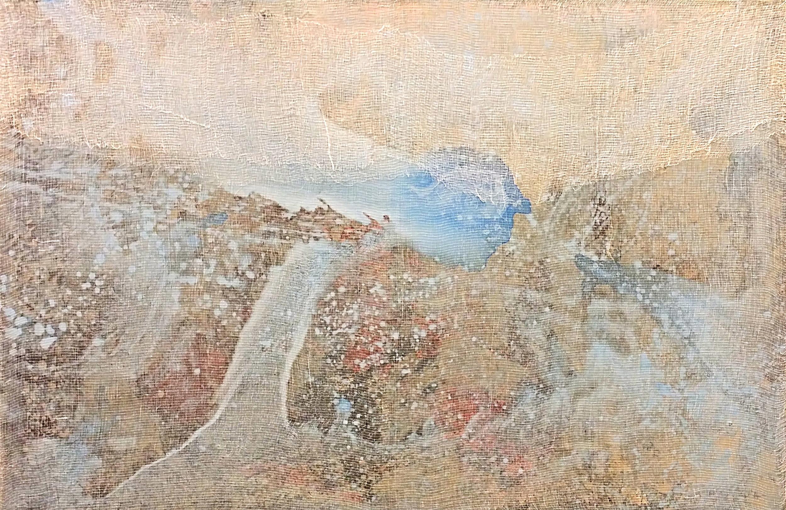 Tiepolo Graffiti 480, 2015  Acqua e Terra  24 x 36 inches