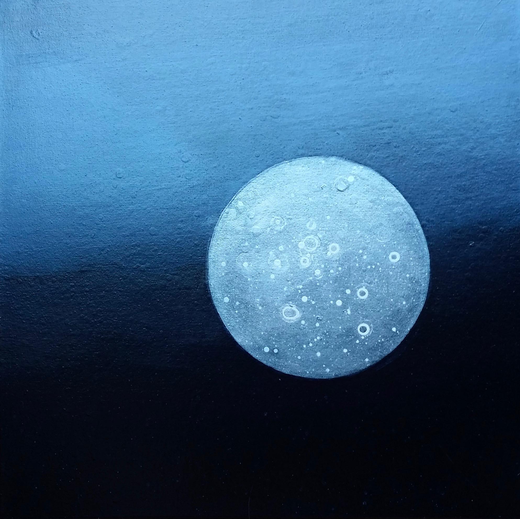 Moon, 2018  24 x 24 inches  Acrylic on canvas