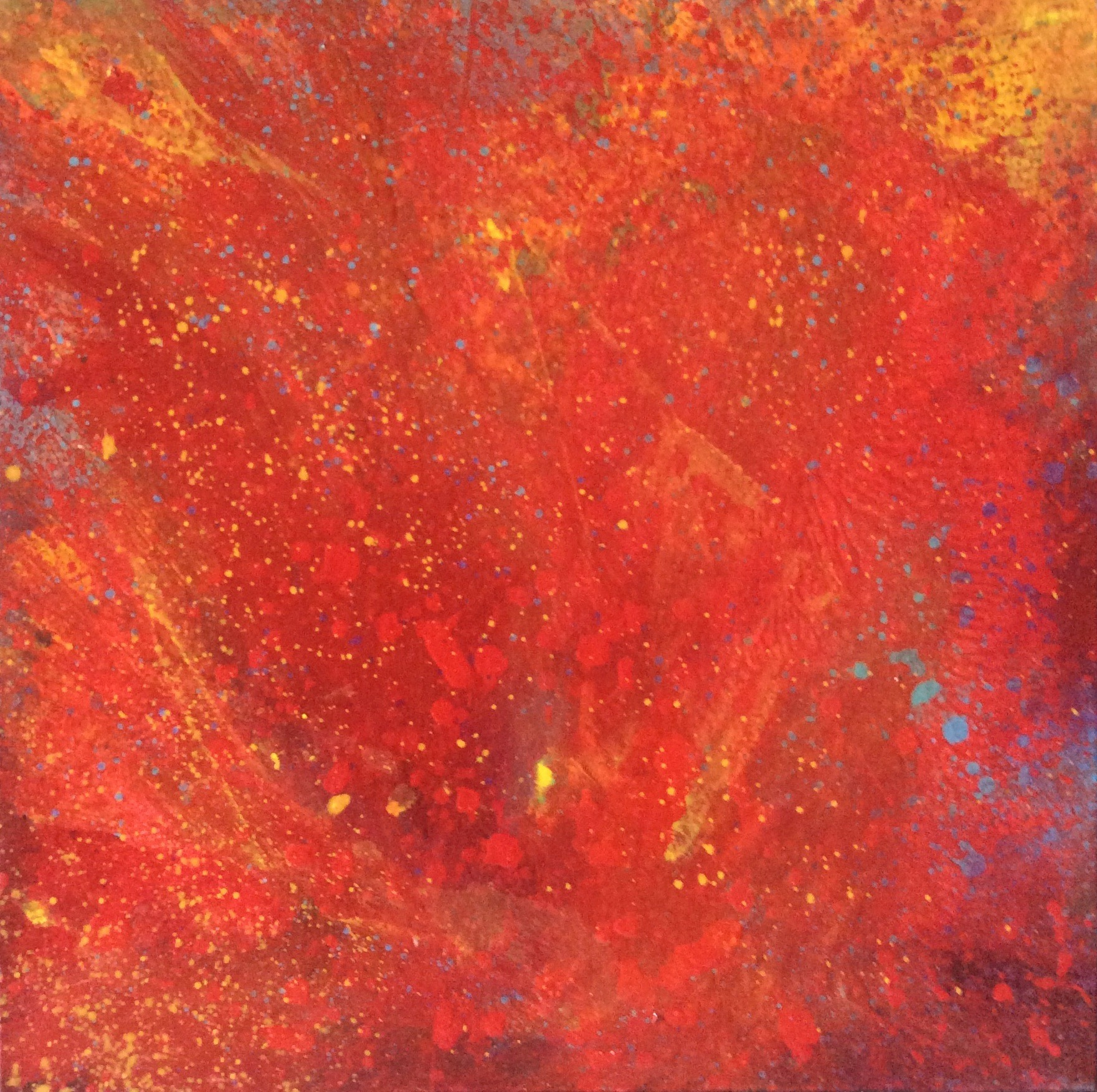 Fire, 2014  24 x 24 inches