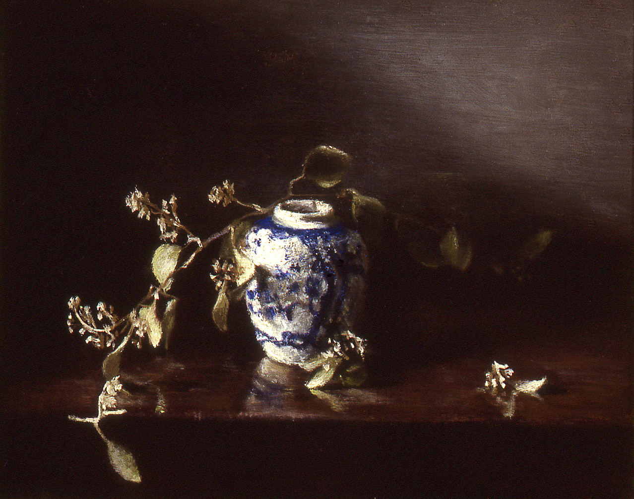 """out of the shadows: oil on board 9"""" x 12"""" (sold)"""