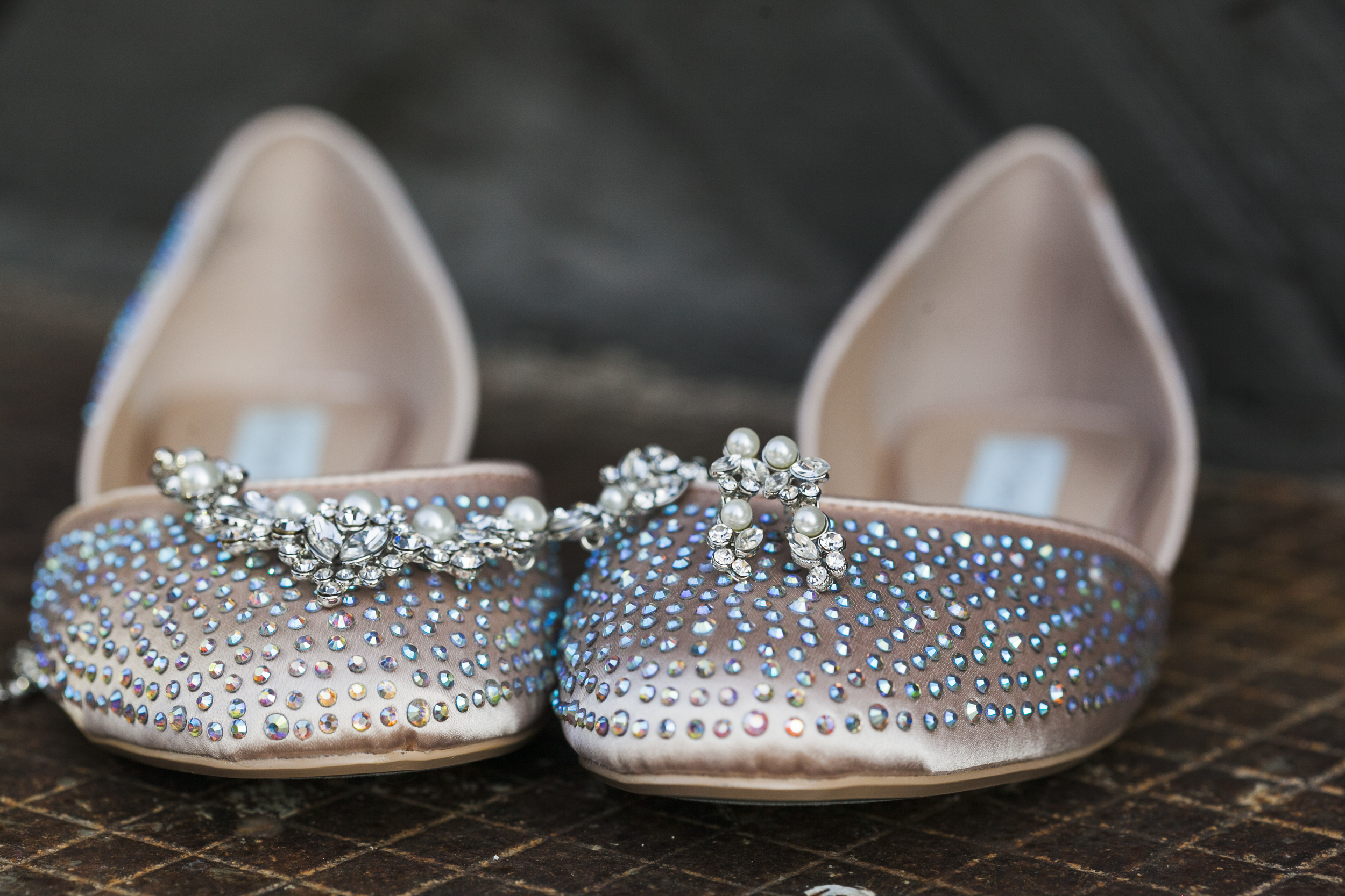 I'm in love with her shoes! So unique!