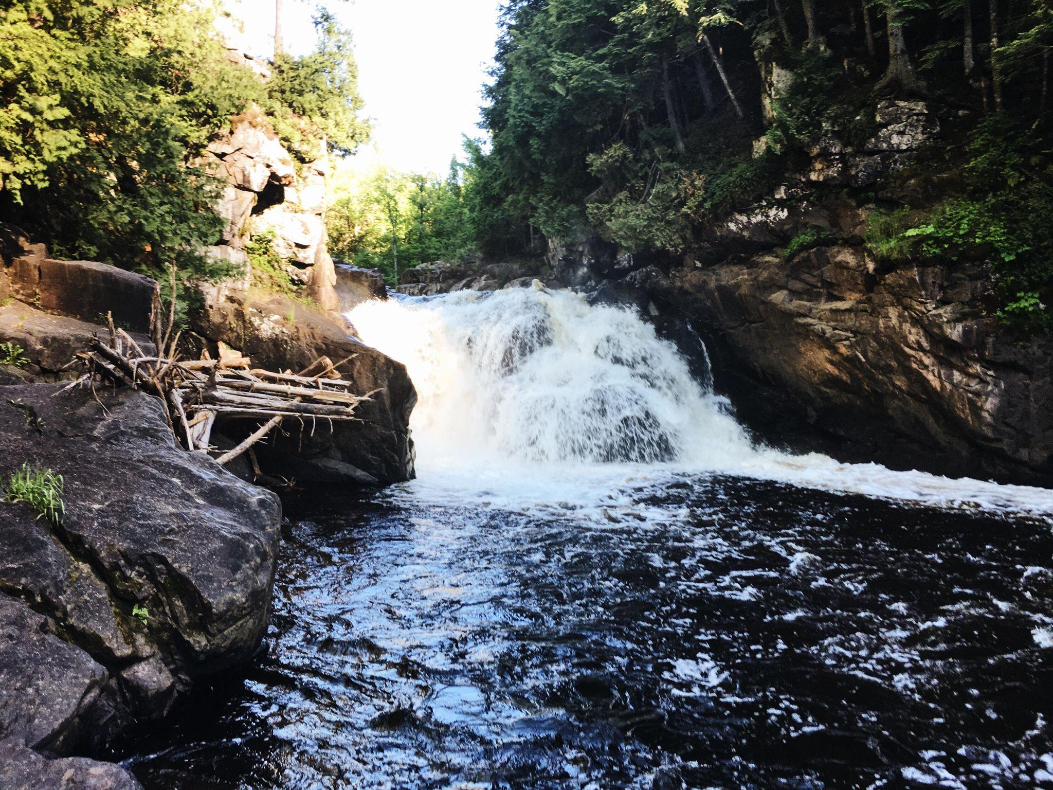 Sturgeon River Falls.