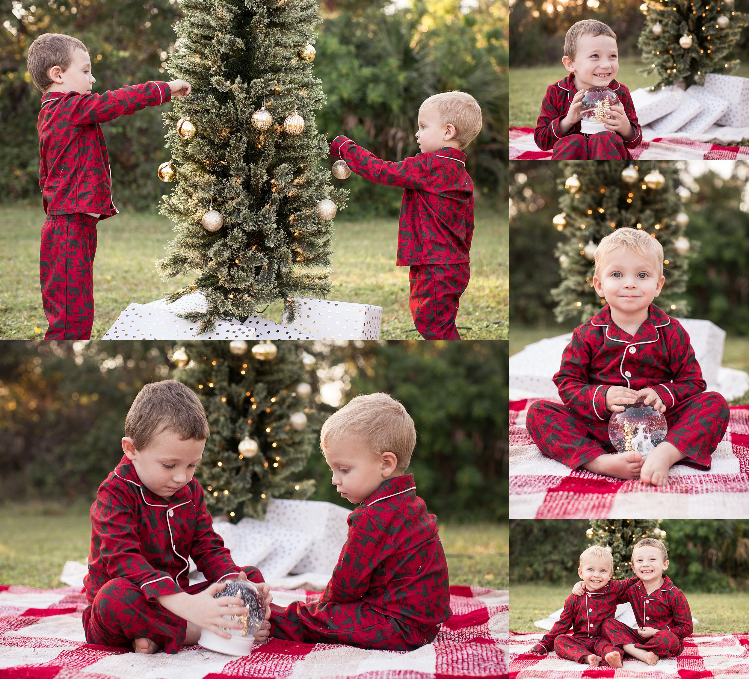 2016 FAMILY HOLIDAY PHOTO SESSIONS | CHRISTMAS TREE AT THE PARK | SEBASTIAN, FLORIDA PHOTOGRAPHER