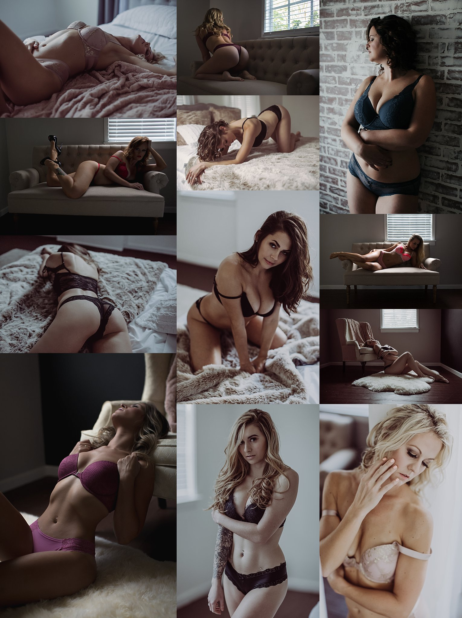 bra and panty outfit ideas with posing