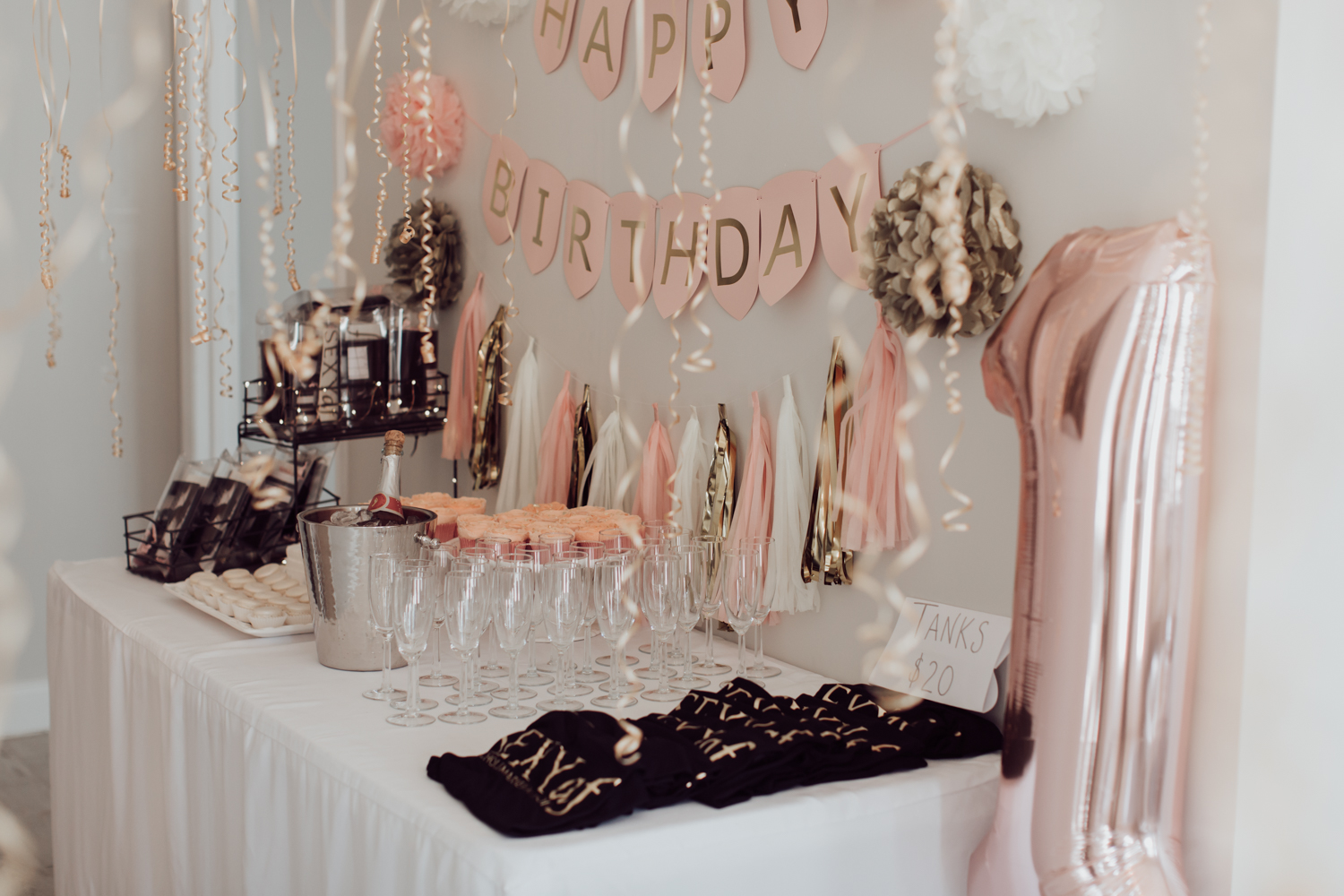 how to throw a successful party. party table pics. theme colors