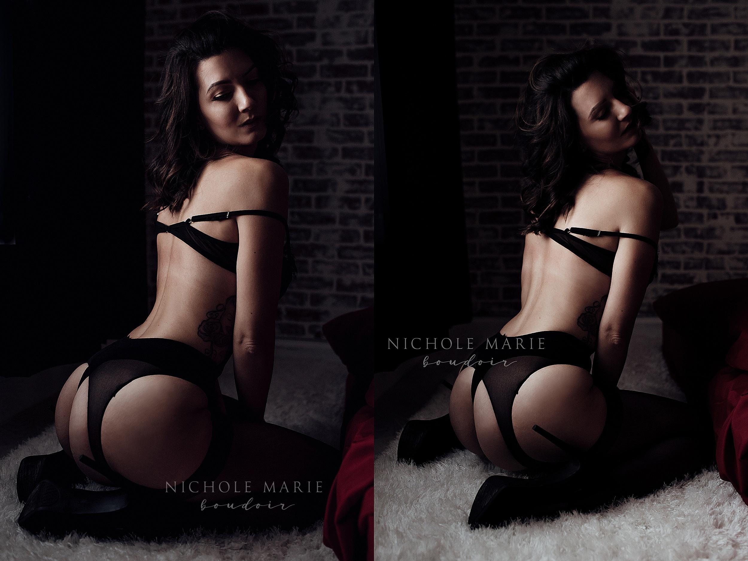 Floor boudoir posing | Sebastian, Florida Boudoir Photographer | Nichole Maire Boudoir.jpg