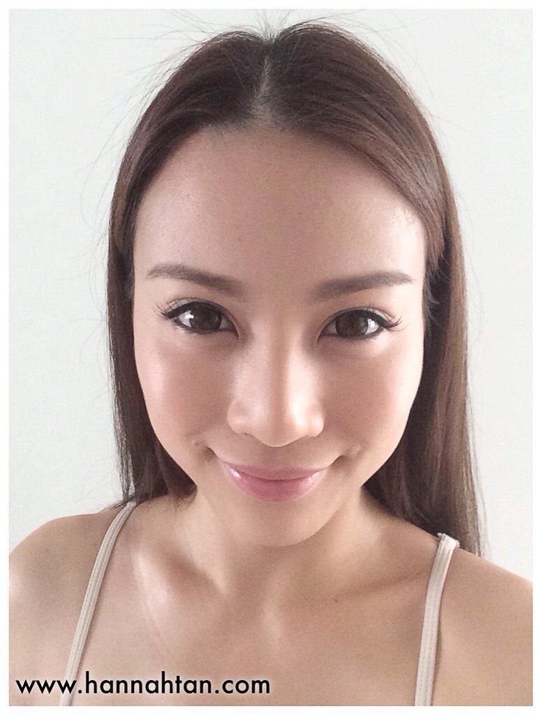 With light makeup
