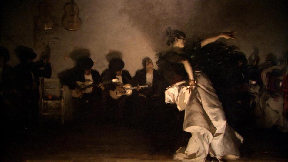 El Jaleo,  by John Singer Sargaent - 1882, 7' 10'' x 11' 5'' - oil on canvas