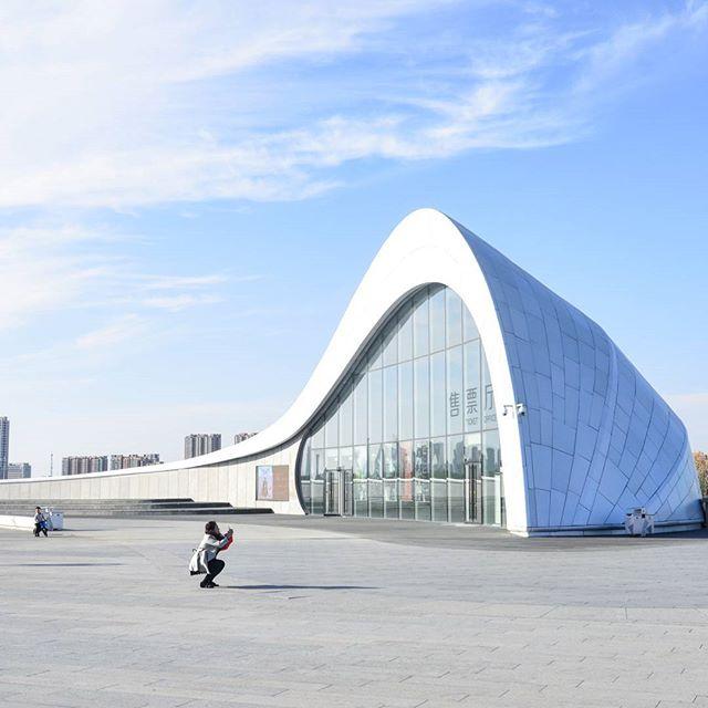 Harbin Grand Theatre  Selfie Time  #MADarchitects