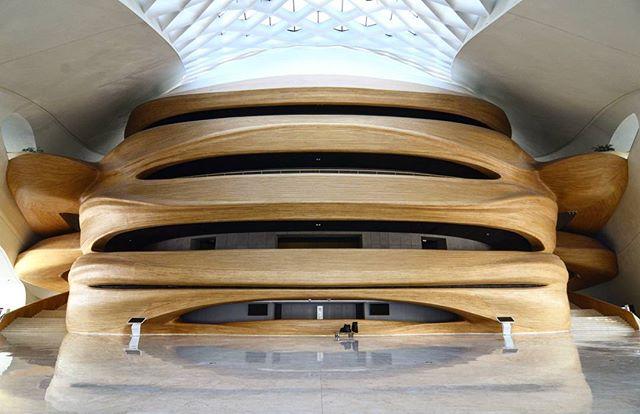 Harbin Grand Theatre Internal #MADarchitects