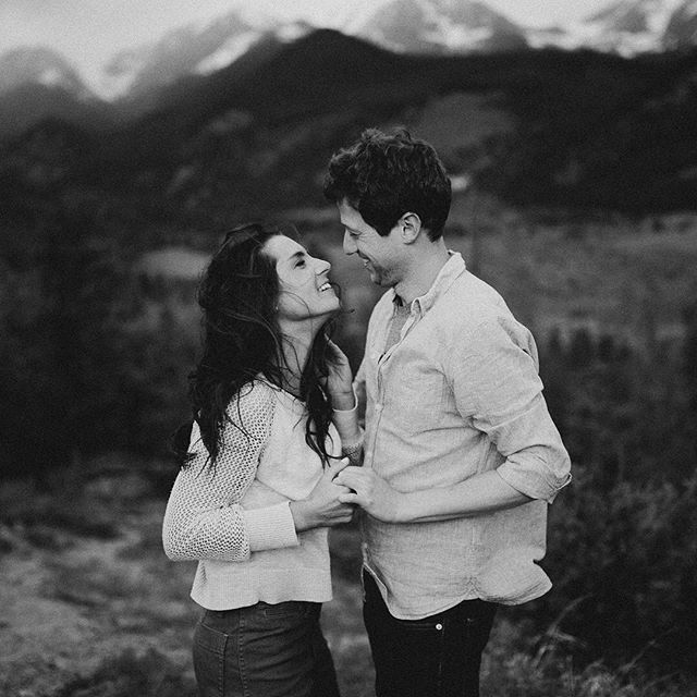 In love, in the Rockies, in the wind. .. In black and white. .. .. #rockymountain #rockymountainwedding #rockymountainweddingphotographer #rockymountainengagementphotographer #estespark #estesparkwedding #estesparkweddingphotographer #estesparkelopement #rockymountainelopementphotographer #coloradowedding #mountainbride #adventurousbride #gpresets #togetherjournal #rockymountainbride #coloradobride #seattleweddingphotographer #mountainelopement #seattleelopementphotographer #destinationweddingphotographer #destinationwedding #coloradoweddingphotographer #brideboquet #weddinginspiration #mountainweddinginspiration #intimatewedding #intimateseattlewedding #greenweddingshoes