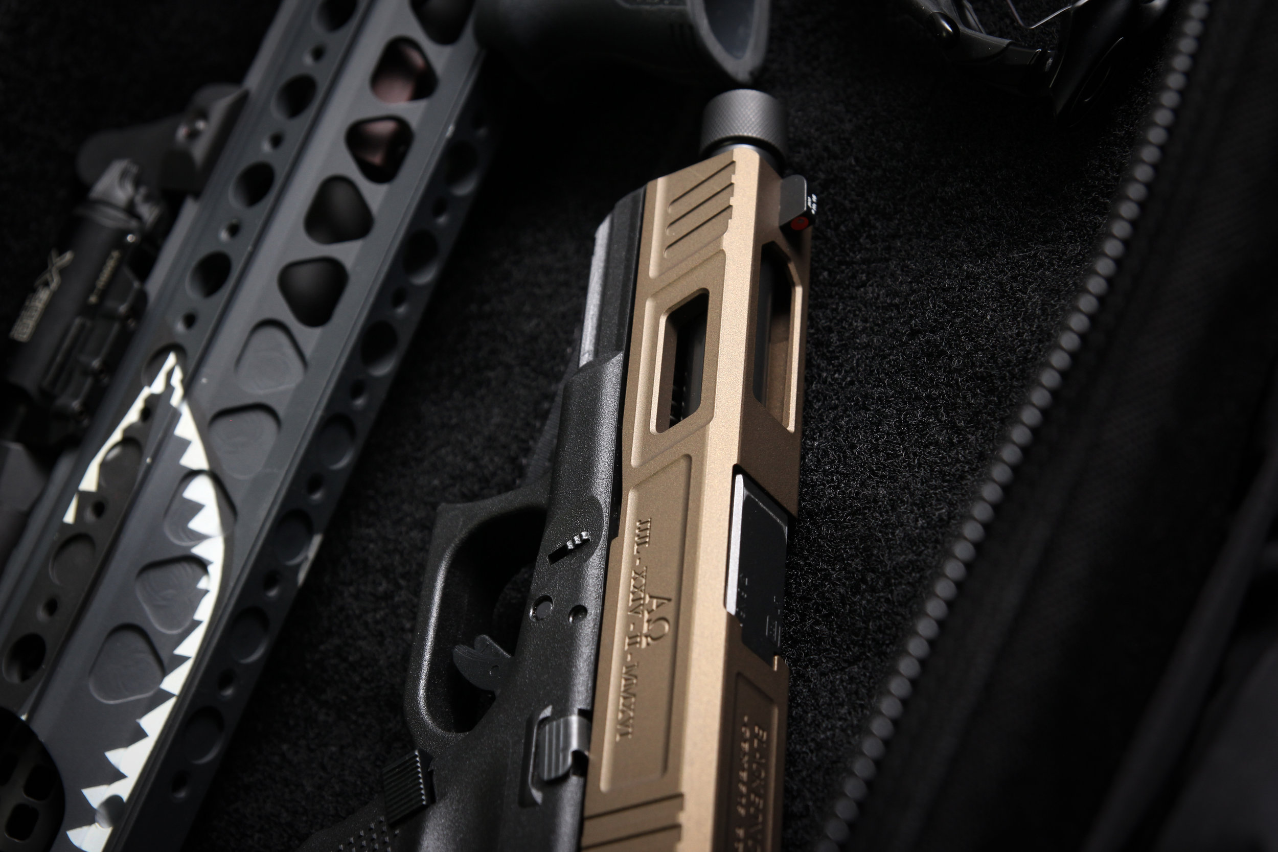 black box customs custom glock