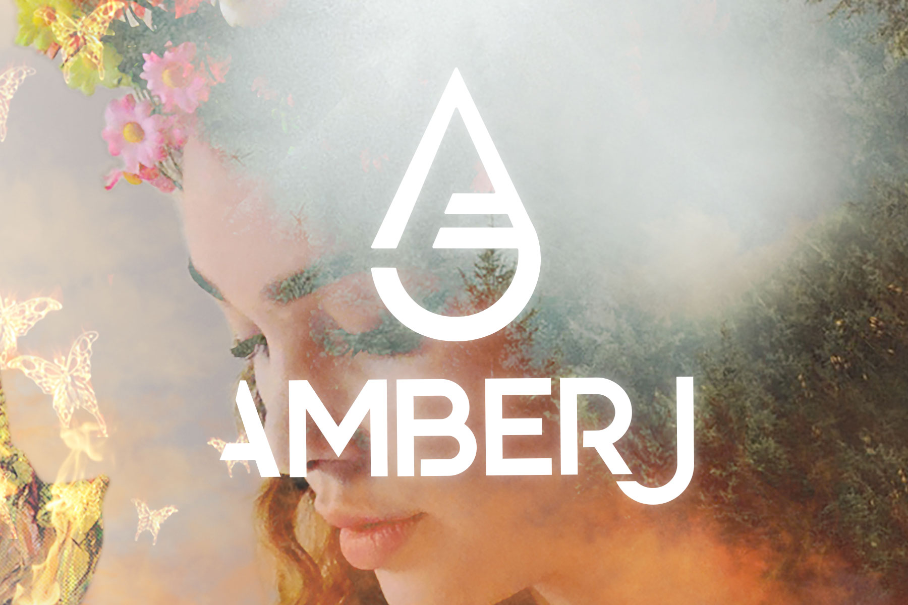 Amber J - Logo for Canadian musician and recent CTV's The Launch participant Amber J