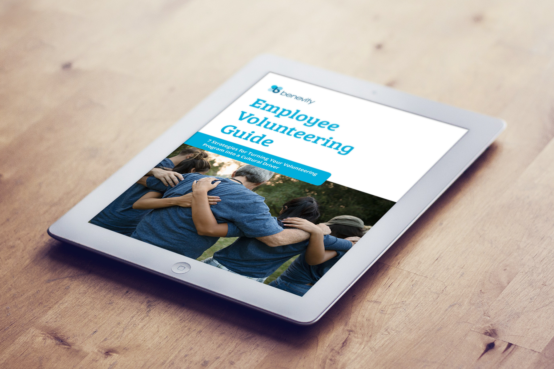 Benevity: Employee Volunteering Guide 2019 - 7 Strategies for Turning Your Program into a Cultural Driver: An ebook guide created for the Benevity blog and content marketing that highlights what leading corporate volunteer programs have in common; their flexibility and inclusivity. As well it includes strategies you can implement to drive more social impact, which leads to more engagement and, ultimately, a purpose-driven culture where people are compelled to give year-round.