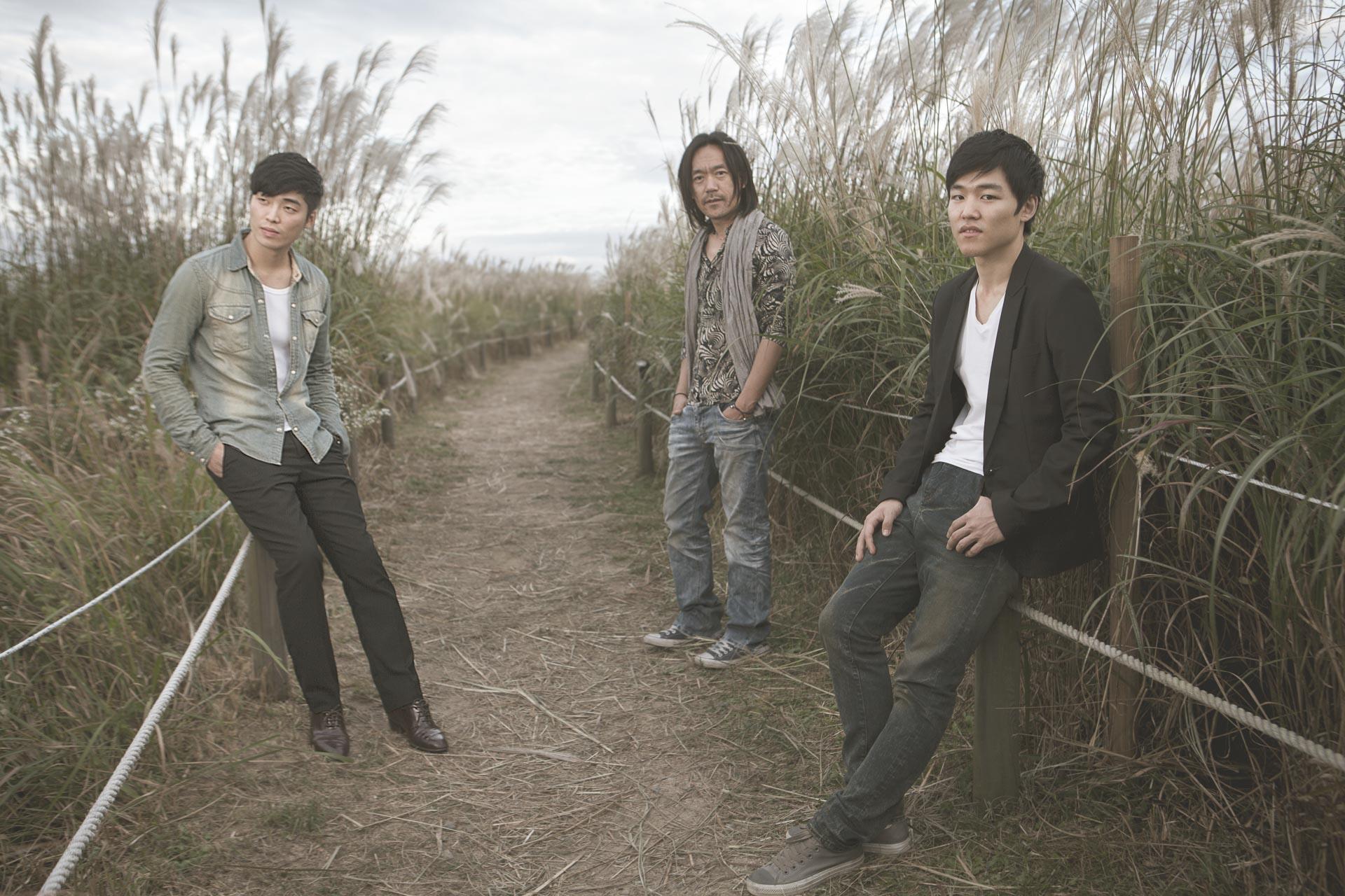 Seoul band photoshoot for The Corona.