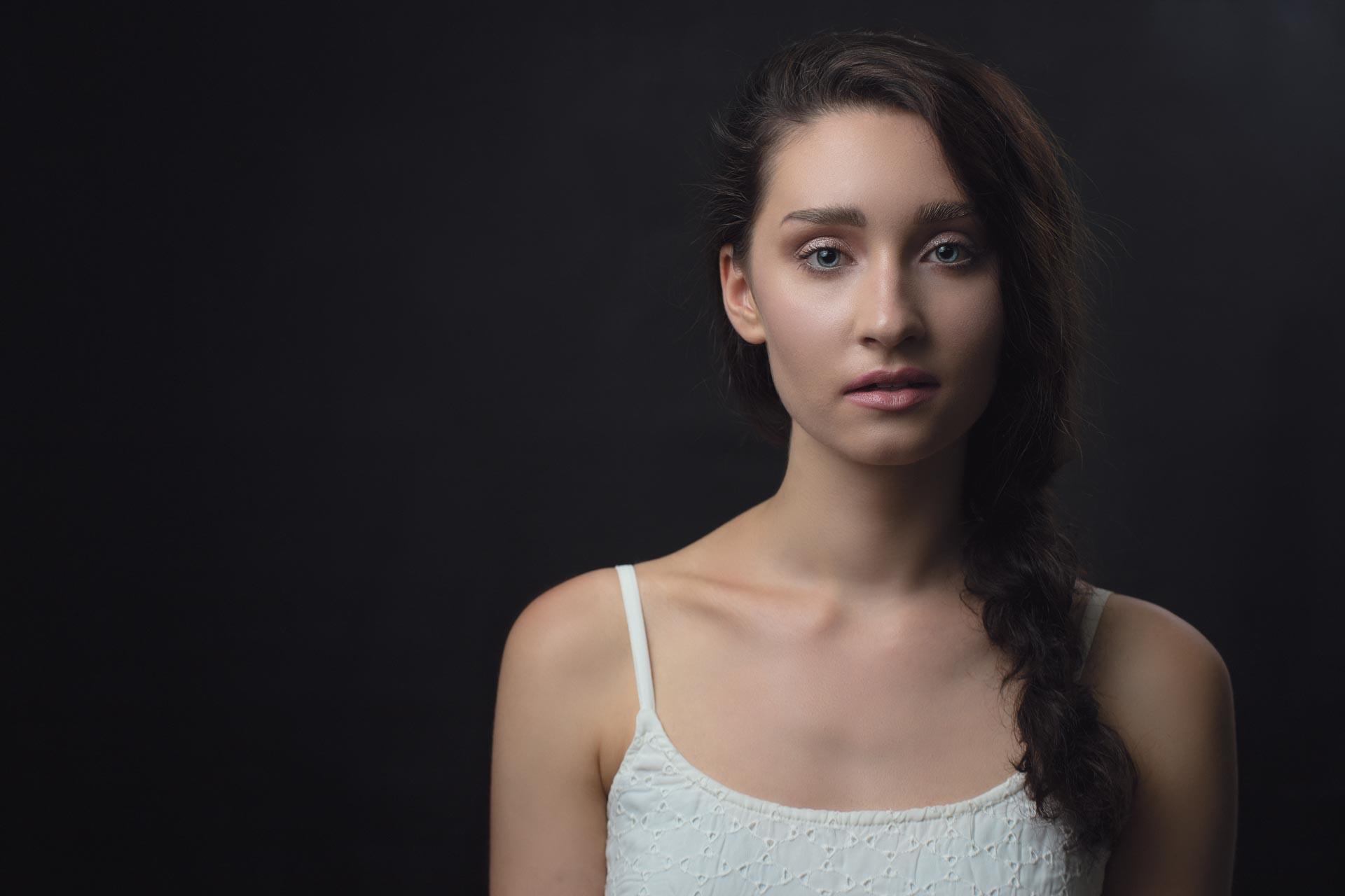 Beauty photoshoot with Valeria