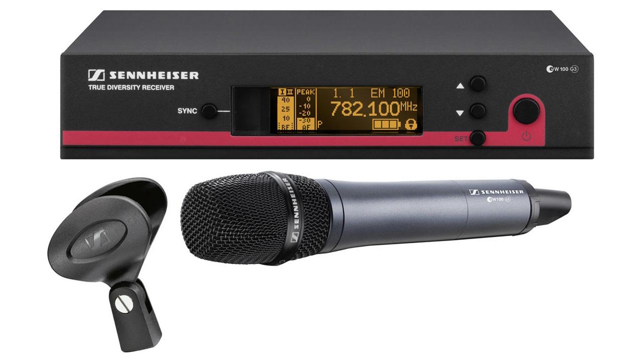 Sennheiser EW100 G3 Wireless Microphones