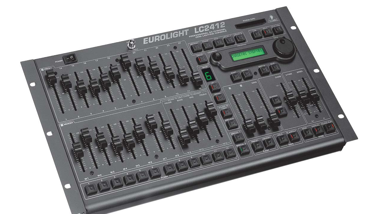 Behringer Eurolight LC2412 for front of house DMX lighting control