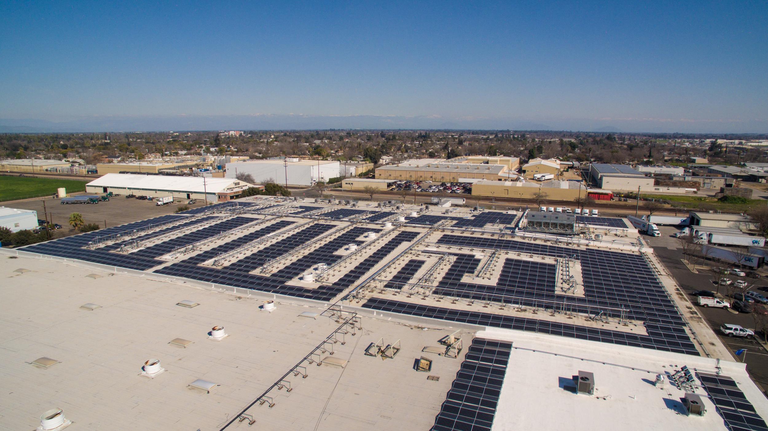 OK Produce Pacific Solar Installation