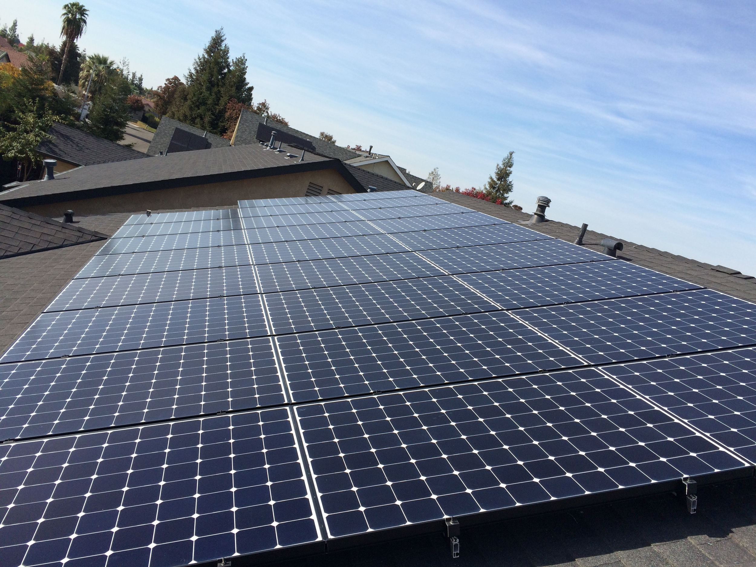 Residential Pacific Solar Installation