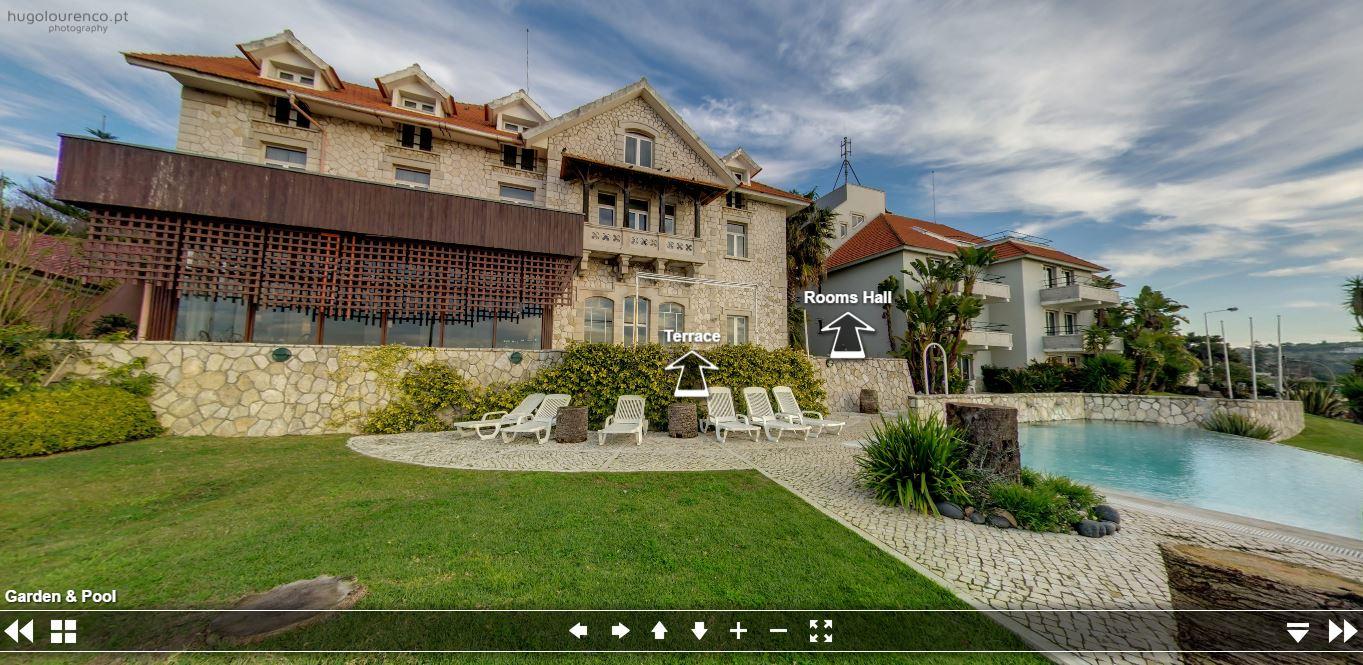 hotel solar palmeiras **** - paço de arcos (hotel virtual tour)