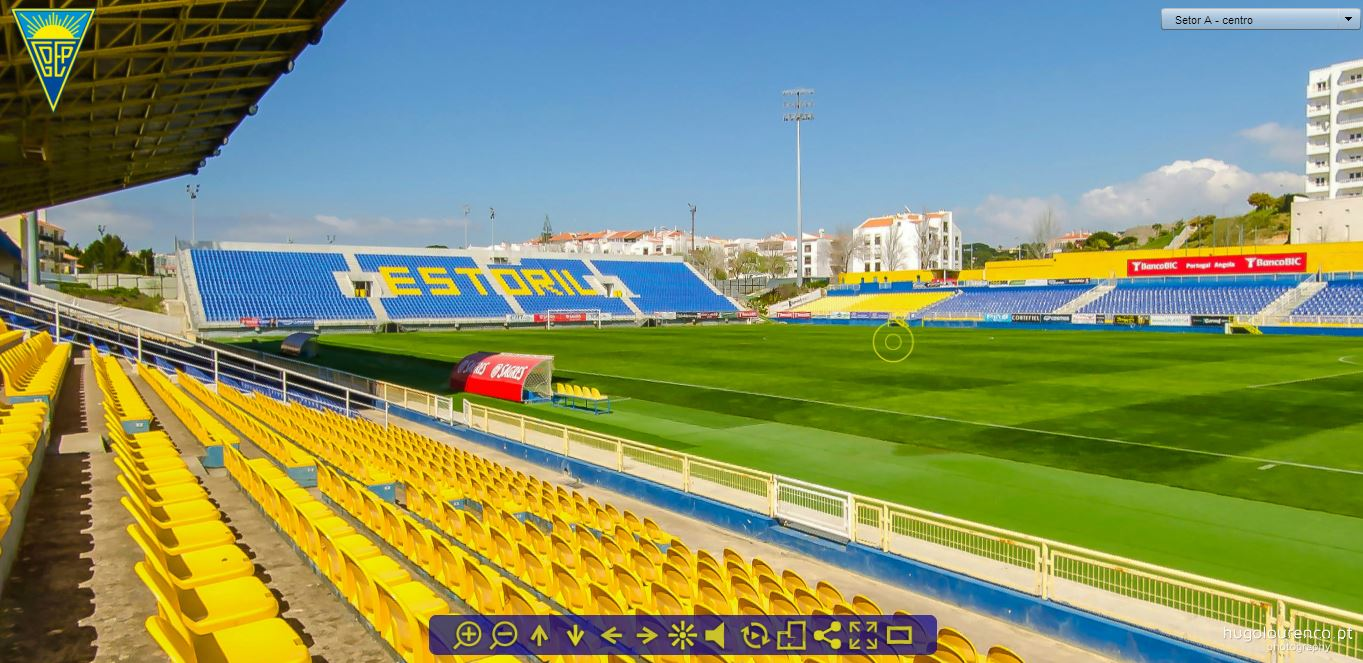 grupo desportivo estoril praia - estoril (stadium virtual tour)
