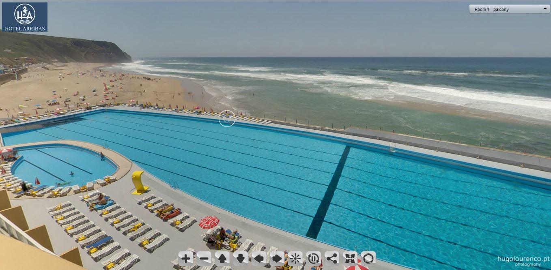 hotel arribas *** - praia grande - sintra (hotel virtual tour)