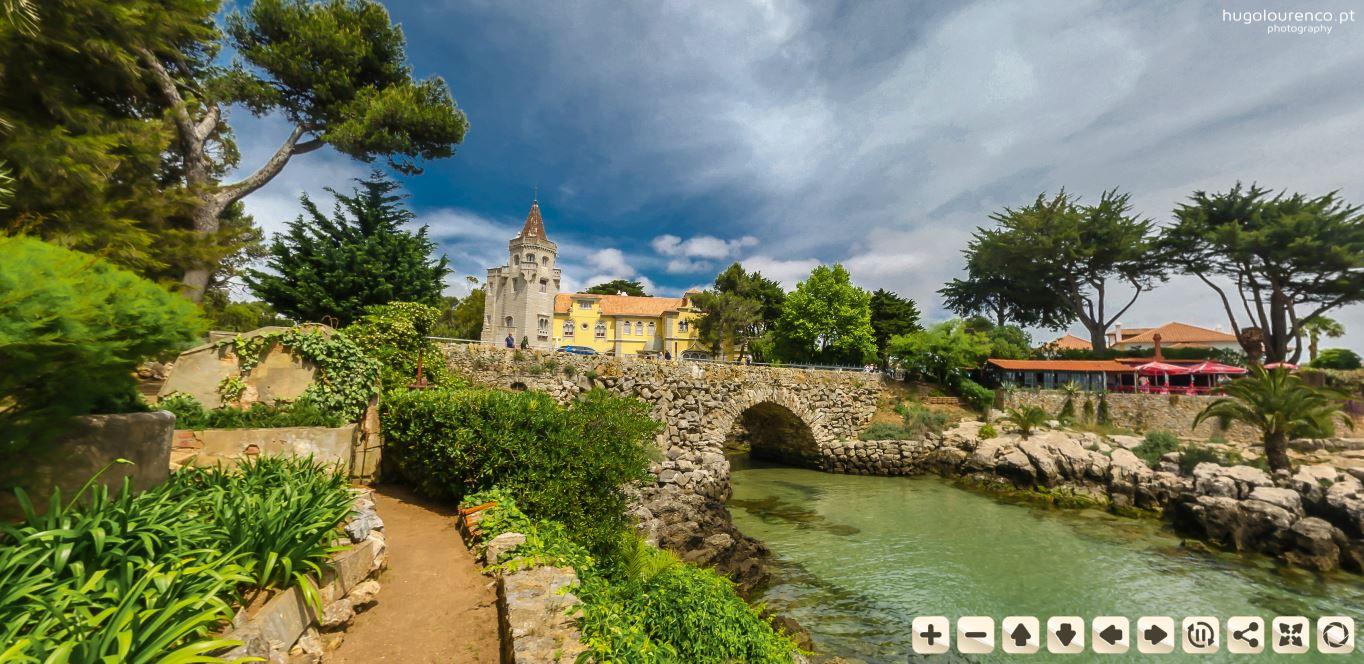 casa santa maria / praia santa marta - cascais (landscape virtual tour)