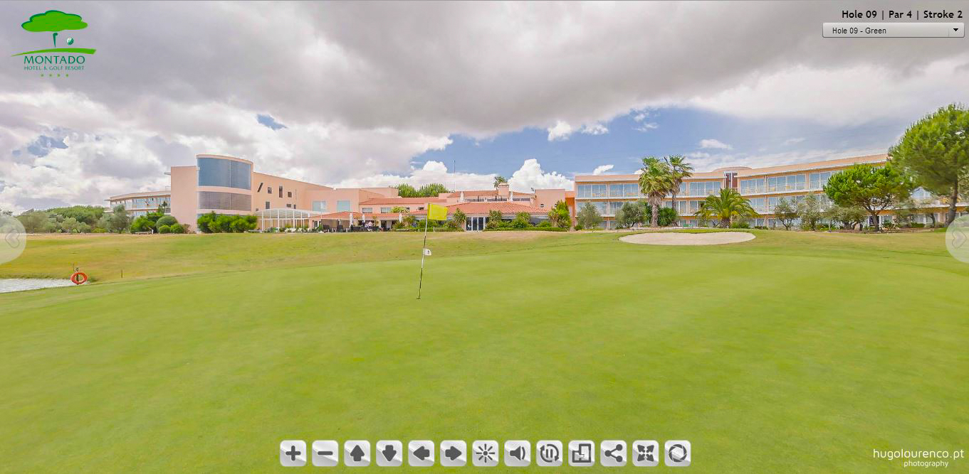 montado golf resort - palmela (golf course virtual tour)