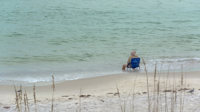 """Don't want to be a whiner...but... I prefer to share that beach right about now. """"It's my beach"""" (c) Rebecca LaChance 2015. St. Andrews State Park, Panama City Beach, FL."""