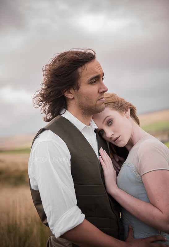 """Aaah, the drama of young romance! """"What follows me forward if I should stay with my heart? A Wuthering Heights Romance"""" (c) 2016, Rebecca LaChance, Haworth, England. """""""